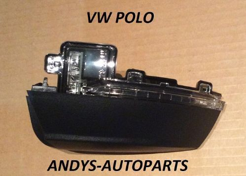 VOLKSWAGEN POLO 2008 ONWARDS WING MIRROR INDICATOR LENSE DRIVER OR PASSENGER